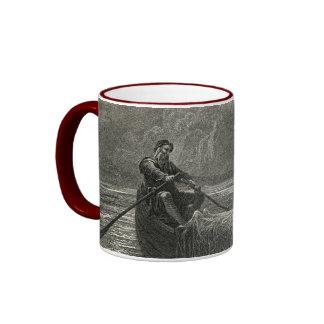 Arthurian legend: The Body of Elaine Ringer Mug