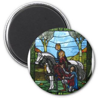 Arthurian Window Magnet