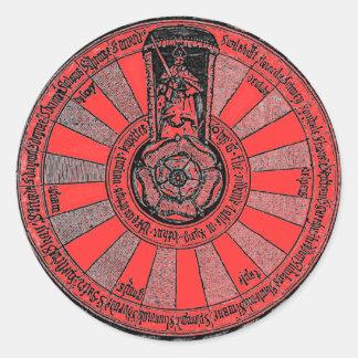 Arthur's Round Table Classic Round Sticker