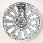 Arthur's round table coasters
