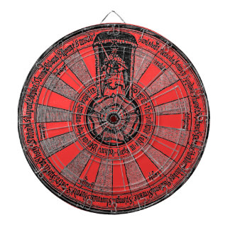 Arthur's Round Table Dartboard