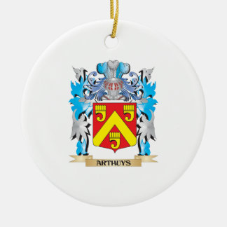 Arthuys Coat Of Arms Christmas Ornaments