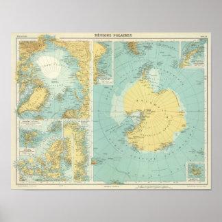Artic, Antarctica Poster
