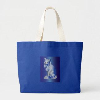 Artic Fox 1 Large Tote Bag