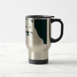 Artic Wolf.jpg Travel Mug