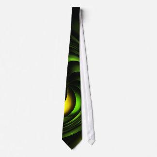 Artichoke Abstract Fractal Artwork Tie