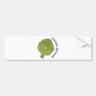 Artichoke Aficionado Bumper Sticker