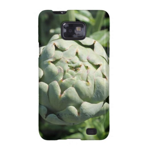 Artichoke and Leaves. Samsung Galaxy SII Cover