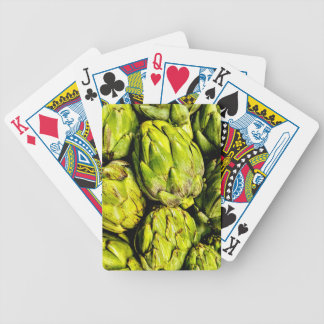 Artichoke Bicycle Playing Cards