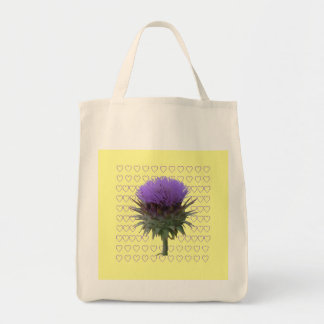 Artichoke Bloom Organic tote bag