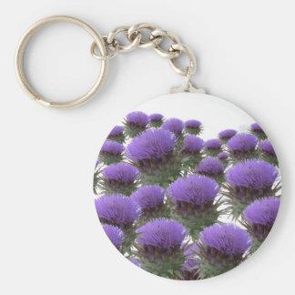Artichoke Blooms Keychain