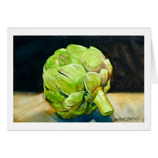 """ ARTICHOKE "" GREETING CARDS"