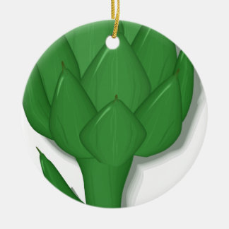 Artichoke Ceramic Ornament