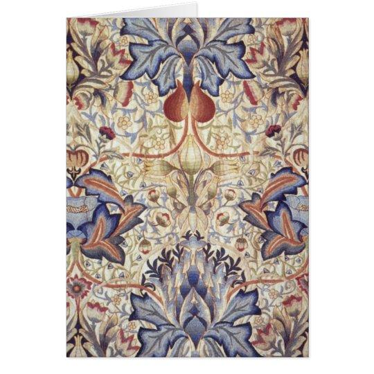 Artichoke Design by William Morris Card