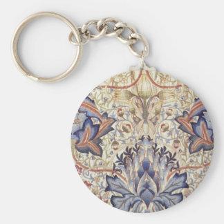 Artichoke Design by William Morris Keychain