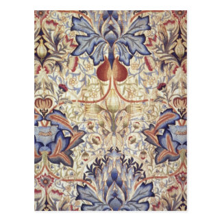 Artichoke Design by William Morris Postcard
