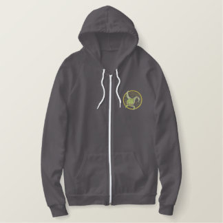 Artichoke Embroidered Hoodie