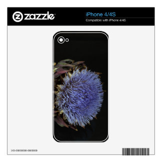 Artichoke flower iPhone 4S skins