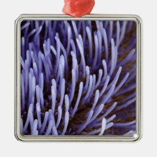 Artichoke flower metal ornament