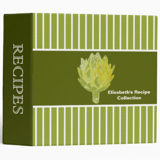 Artichoke Recipe Binder