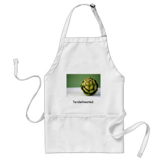 Artichoke, Tenderhearted. Adult Apron