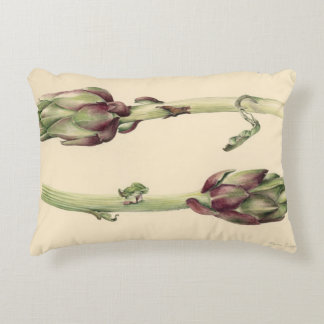 Artichokes 2005 decorative pillow