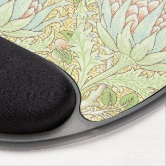 Artichokes by William Morris Art Nouveau Gel Mouse Pad