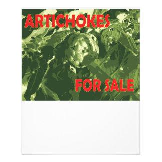 artichokes flyer