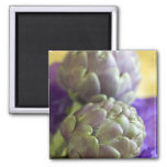 Artichokes For use in USA only.) 2 Inch Square Magnet
