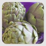 Artichokes For use in USA only.) 2 Square Sticker