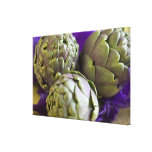Artichokes For use in USA only.) Stretched Canvas Prints