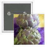 Artichokes For use in USA only.) Pinback Button