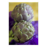 Artichokes For use in USA only.) Poster