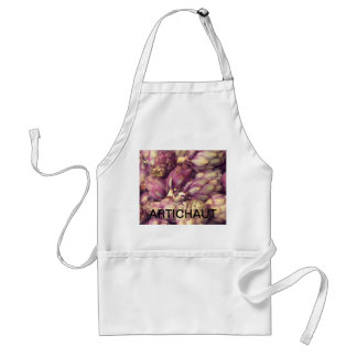 Artichokes in French Adult Apron