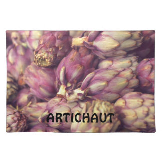Artichokes in French Cloth Placemat