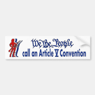 Article 5 bumper sticker