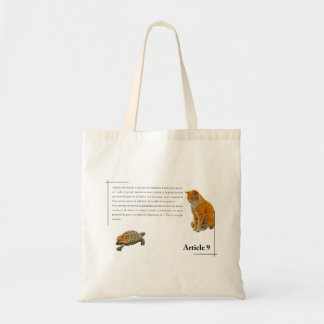 Article 9(French edition) Tote Bag