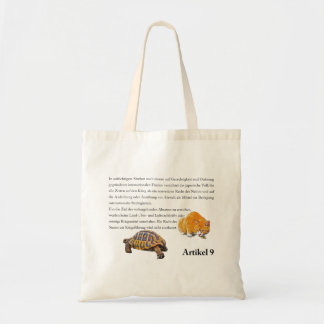 Article 9(German edition) Tote Bag