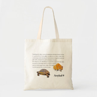 Article 9(Polish edition) Tote Bag