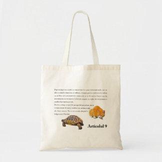 Article 9(Romanian edition) Tote Bag