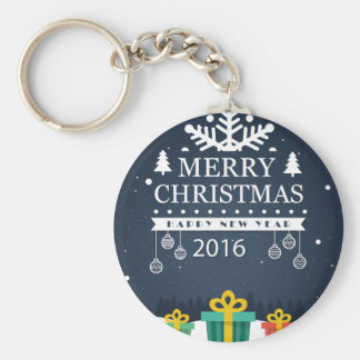 Articles of Christmas Basic Round Button Keychain
