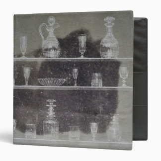 Articles of glass 3 ring binder