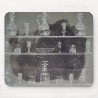 Articles of glass mouse pad
