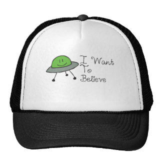 articles of ufos and ufos trucker hat