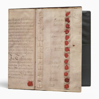 Articles of Union between England and Scotland 3 Ring Binder