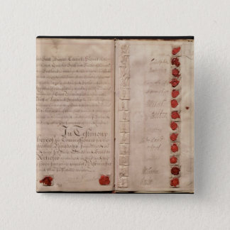 Articles of Union between England and Scotland Button