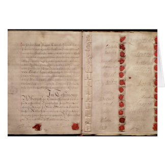 Articles of Union between England and Scotland Card