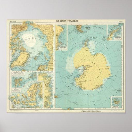 Ártico, la Antártida Póster