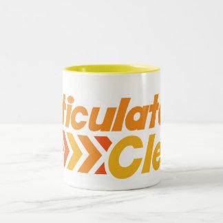 Articulate and Clean Two-Tone Coffee Mug