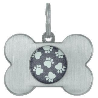 Artículo azul del regalo del mascota de Zazzle de  Placas Mascota
